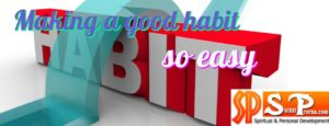 making a good habit