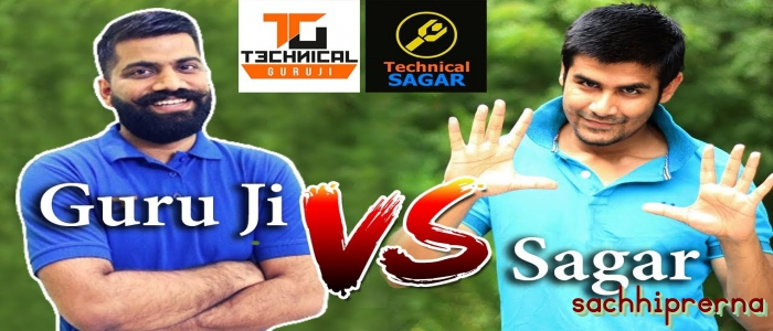 technical guru vs sagar fight