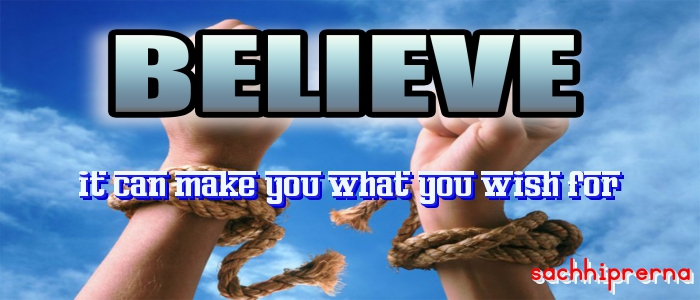 true power of belief