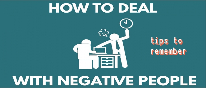 deal negative people