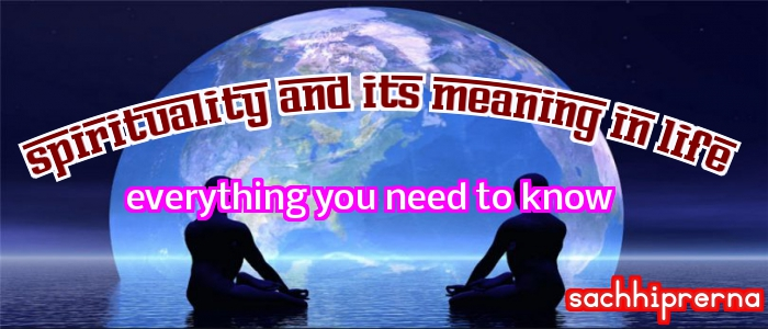 meaning of spirituality