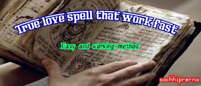 love spell that works fast